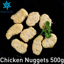 [Hen Tick] CHICKEN NUGGETS [500g] [hego] [frozen] [poultry] [convenience food]