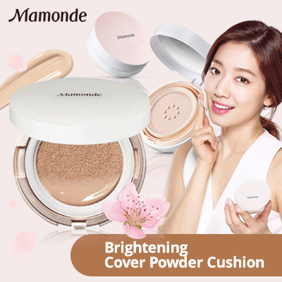 MAMONDE Brightening Cover Powder Cushion / Refill Deals for only Rp200.000 instead of Rp200.000