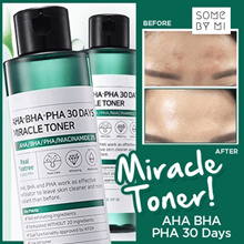 ♥READY STOCKS IN SG ♥ [SomeByMi] 30 DAYS MIRACLE TONER ♥ AHA BHA PHA 150ML FOR ALL SKIN TYPES