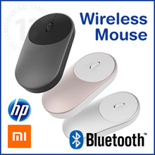 Xiaomi HP Wireless Bluetooth Mouse Portable 1600DPI Silent Clicks 2.4GHz Dual Connection
