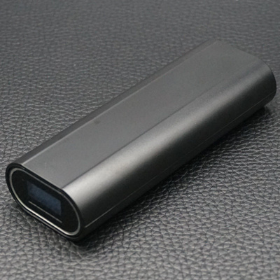 DIY Power Bank Case External Backup 18650 Battery Charger Station Black  Powerbank Box For iPhone MP3