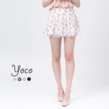 YOCO - Peplum Skorts-170509