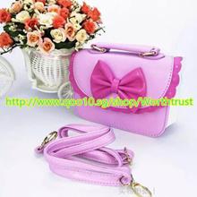 ★Baby girl handbag mini princess bags baby kids PU leather handbag shoulder bag for daily party