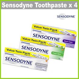 [SENSODYNE] [BUNDLE OF 4]  100g Value Pack Toothpaste