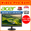 TIME SALES! Limited Set! ACER EB192Q 18.5 Inch Black LED Monitor - 3 Year Warranty!