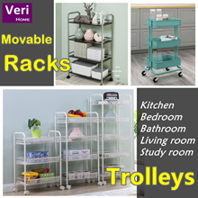 【Multi-Purpose Movable Organizers/Shelving/Racks】FREE ASSEMBLY bf delivery!
