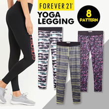 Yoga F.21 Collection Pants Leggings / Branded Leggings / Long Leggings / Colorfull Leggings
