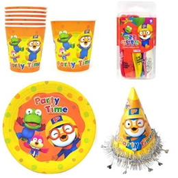 ★HAPPY BIRTHDAY PARTY with PORORO★ Pororo Party Goods (Given Sweety)