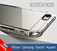 【TPU】TPU Transparent/Matt Soft Case For IPhone Samsung Xiaomi Huawei Oppo