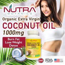 2 Days Sales🔥Burn Belly Fat 🔥Organic Extra Virgin Coconut Oil 1000mg Softgel 🔥Lose Weight