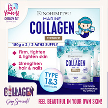 Kinohimitsu Marine Collagen Powder 5000mg (2 MTHS SUPPLY) TYPE 1 n 3 COLLAGEN
