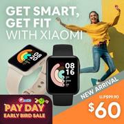 Xiaomi Mi Watch Lite Smartwatch 9 Days Battery Life 5ATM Waterproof Built-in GPS GLONASS 1.4 Display