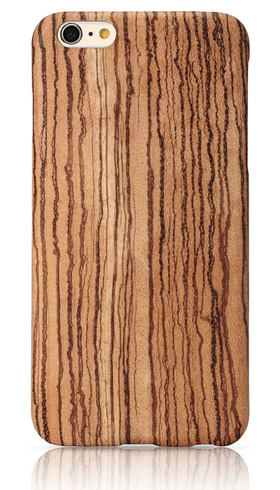 new arrival f49cc 454aa PITAKA Wood Case Compatible with iPhone 6 Plus/6s Plus(5.5 Inch),  [Aramidcore Wood Series] Genunine