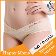 HAPPYMOMS MATERNITY UNDERWEAR (0-9MONTHS). ENJOY PREGNANCY MATERNITY PANTIES MADE TO LAST.