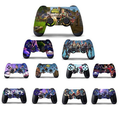 PS4 Skins Stickers Popular Game Fortnite PS4 Controller Skin Sticker Cover  For Sony PS4 PlayStation