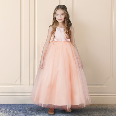 7f833e85a6dc3 factory Summer Flower Girl Dress Ball gowns Kids Dresses For Girls Party  Princess Girl Clothes For