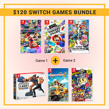 $120 Nintendo Switch Games Bundle // Popular Games // Mix and Match // Labo // Mario