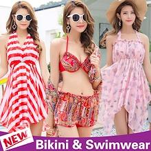 2018 Women Bikini / Swimwear / Swimming wear / Spa swimsuit / 2pcs 3pcs 4pcs suit / Rash guards