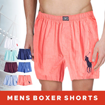 1+1 Mens Boxer Shorts With Embroidery - Available In 11 Colors - Export Quality