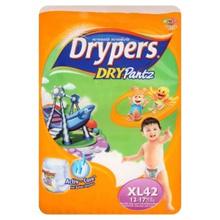 Drypers Dry Pantz XL 12-17kg Disposable Diaper Pants 42pcs [Halal Certification]