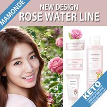 [Mamonde]2018 new design/rose water/toner/toner pad/gel cream/soothing gel