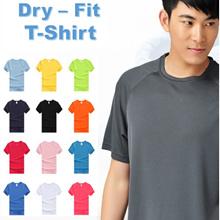 Quick Dry Short-Sleeved T-shirt | Sport | Jogging | Basketball | Tennis | Tees