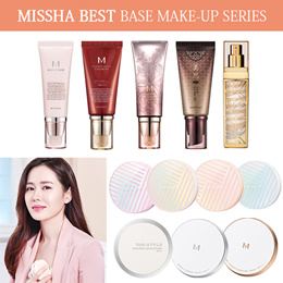 [MISSHA] BEST base make-up series ★BB Boomer/M Perfect Cover/Signature Real Complete/Wrinkle Filler