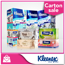 [Bundle of 2] Kleenex Facial Tissues - Floral / Classic / Natural / Garden 5x100pcs