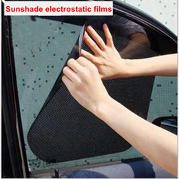 Car Sunshade/ Car Screen Sunshade/ Heat Insulation and UV Electrostatic film 2PCS