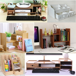 [SG Seller] Home multi-purpose desk shelf/organizer units for stationery/cosmetics/decoration/rack