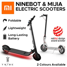 Ninebot KickScooter ES2 Smart Electric Scooter foldable lightweight long board hoverboard skateboard