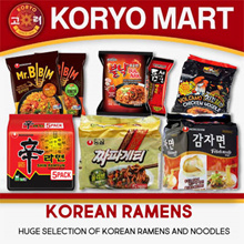 Korean Ramens / (Huge Selection Of High-quality Ramens And Noodles)