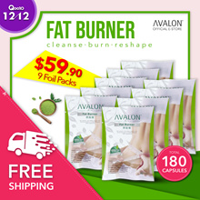 $59.90 180 CAPS! (OVER 7K REVIEWS) SG #1 BestSelling Avalon Fat Burner 100% Natural and Safe
