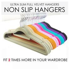 SOL HOME ® - Velvet Non slip hangers / Plastic Non slip hangers