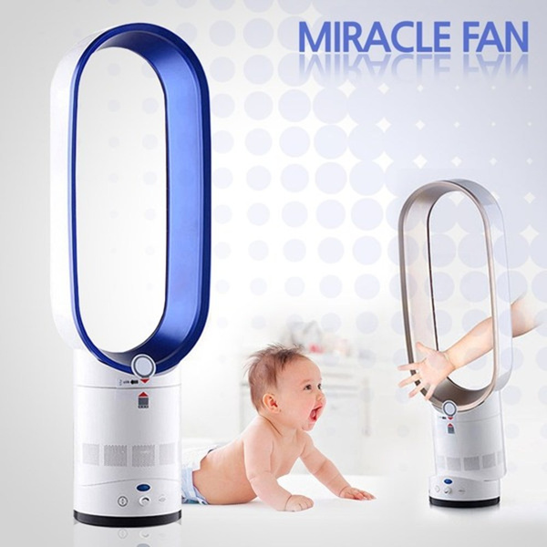 TS Bladeless Miracle Fan / TaeSan Miracle Fan Air Cooler / Low Noise Fan /  Rotation / Power Saving Air Cooler / Natural Wind / Safe for Kids?Baby ! /