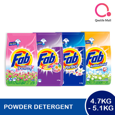 png[PnG] FAB Detergent Powder 4 7-5 1kg - Downy Antibacterial Perfect  Colour! Super Effective!