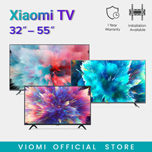 【Official Store】Xiaomi Smart TV | 32 43 50 65 in | LED HD | Android TV