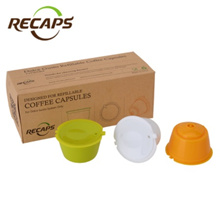 3pcs Dolce Gusto Capsules reusable Refillable nescafe dolce gusto capsule cup cafeteira dolce gusto