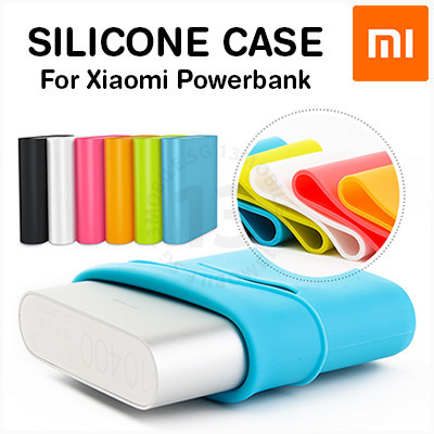 Xiaomi Powerbank Silicone Case Power Bank Protective Cover Sleeve For All Models