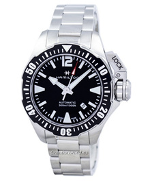 [CreationWatches] Hamilton Khaki Navy Frogman Automatic H77605135 Mens Watch