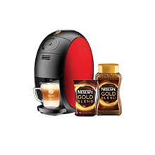 NESCAFÉ Gold Blend Barista System Coffee Machine + NESCAFE Gold Jar 200g + Refill Pack 170g
