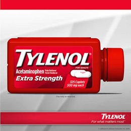 [TYLENOL] 타이레놀 엑스트라 스트렝스 325정/500mg/Tylenol Extra Strength (325정)