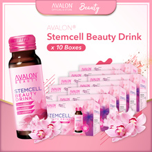 $399 10 BOXES! AVALON STEMCELL BEAUTY COLLAGEN DRINK - SEE THE CHANGE IN 7 DAYS