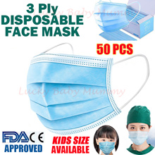 【New】3PL Disposable  Mask BEF99 Y Anti Virus Earloop Masks Adults/Children