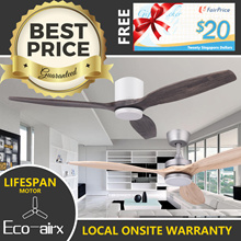 ** FREE $20 NTUC VOUCHER ** ECO-AIRX DC FAN Local On-Site Warranty LIFETIME Motor Warranty