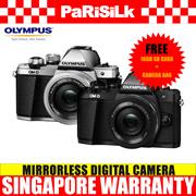 Olympus E-M10 Mark II 14-42mm EZ Kit Mirrorless Digital Camera - Singapore Warranty