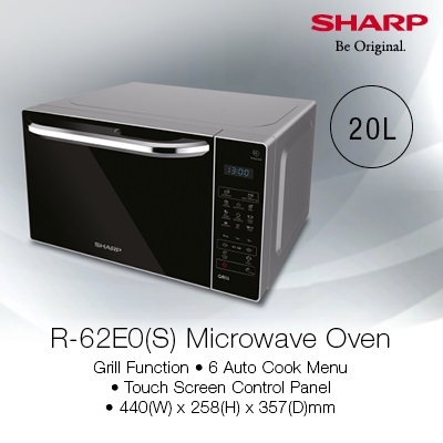 Microwave Oven With Grill R 62e0 S