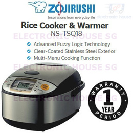 ★ Zojirushi NS-TSQ18 MICOM Rice Cooker and Warmer ★ (1 Year Singapore Warranty)