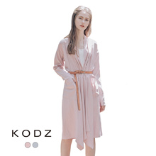 KODZ - Belted Double Pocket Coat-180422