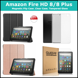 [SG] Amazon Fire HD 8 / 8 Plus / Kids (10th Generation 2020) Tempered Glass / Case Casing Cover